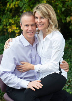 Dr. Weinman and wife, Stacy
