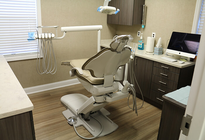 Westfield dental exam room