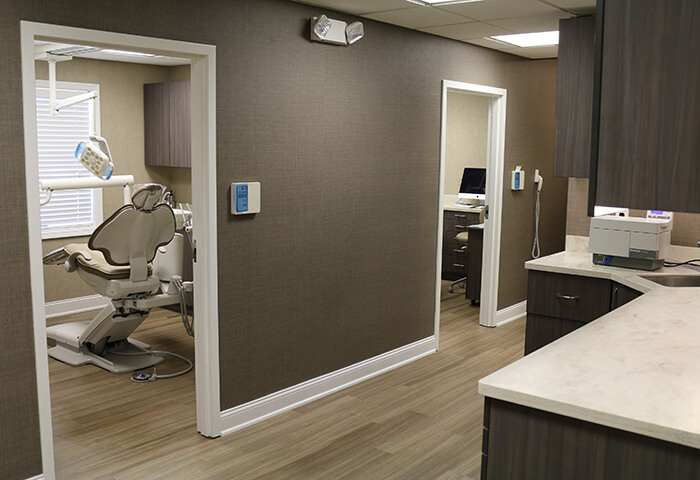David M. Weinman, DMD dental exam room