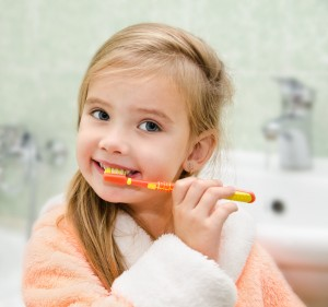 Shutterstock Children Girl Toothbrush